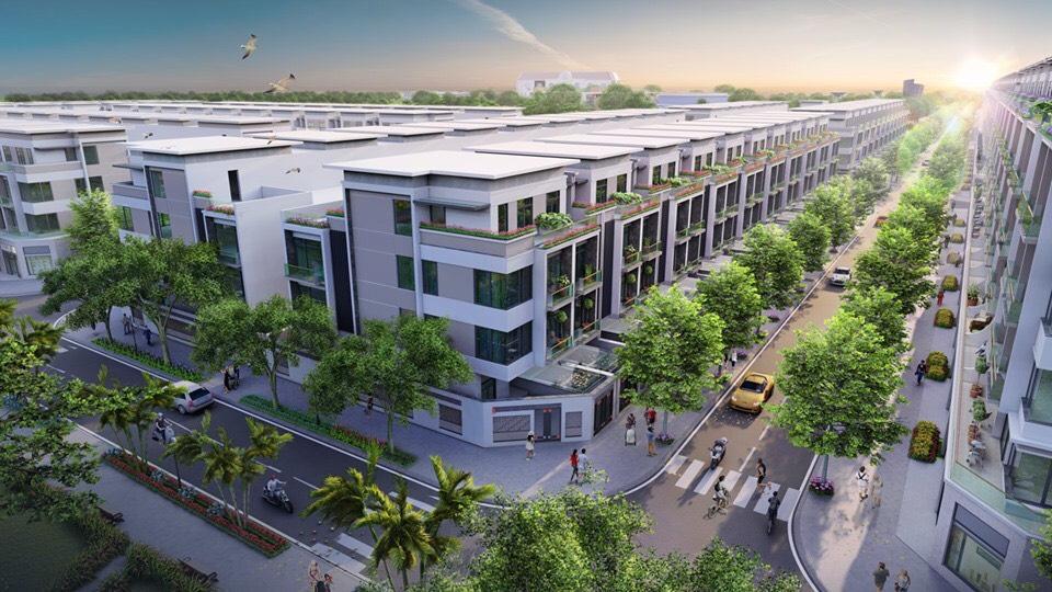 Phối cảnh dự án Khu đô thị mới Thanh Lâm - Đại Thịnh 2